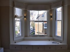 Sliding spring – balanced sash window